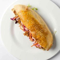 Sandwich pulled pork image
