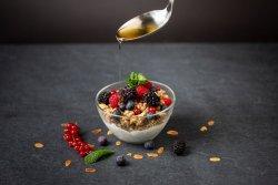 Iaurt cu fructe si granola/Yoghurt  with berries and granola image