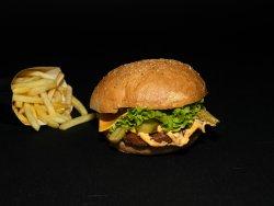 Meniu burger porc image