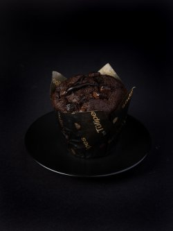 Extreme chocolate muffin image