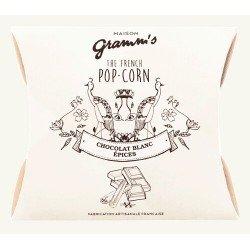 Popcorn caramel cu unt sărat, ciocolată albă și mirodenii image