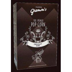 Popcorn caramel cu unt sărat si ciocolată neagră  image
