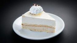 Cake cu ciocolată albă și cafea image