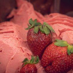 Înghețată de căpșuni fără zahăr image