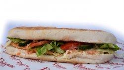 Sandwich piept de pui mic