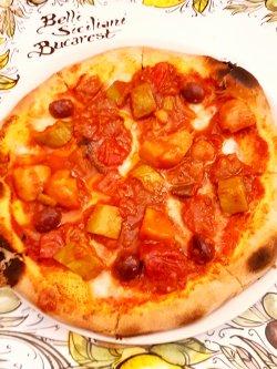 Pizza caponata image