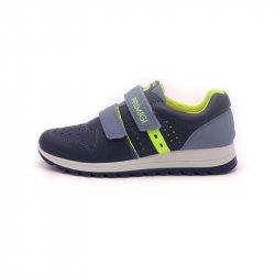 Sneakers băieți Primigi talpă flexibilă blue light/blue