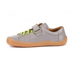 Pantofi barefoot Froddo piele light grey