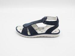 Sandale fete Primigi piele azzurro lilla, 27