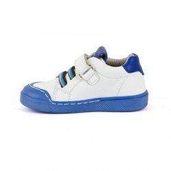 Sneakers Froddo piele white blue