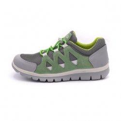 Sneakers Primigi piele oliva nero