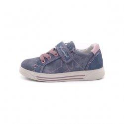 Sneakers fete Primigi piele navy jeans