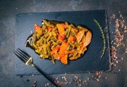 Mâncare de fasole verde image