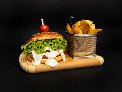 Meniu Burger de pui Gorgonzola image