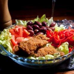 Salată pui crocant