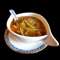 Supă acră-iute cu porc picantă  image