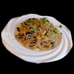 Spaghete de orez cu legume image