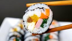 Kimbap cu legume și șuncă image