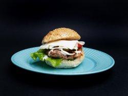 Cheeseburger de casă image