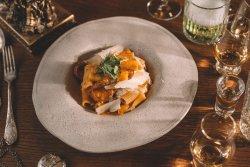 Rigatoni cu Salsiccica și Chutney de legume image