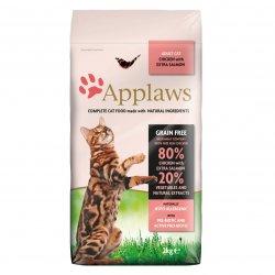 Hrană uscată pentru pisici APPLAWS Pui și Somon image