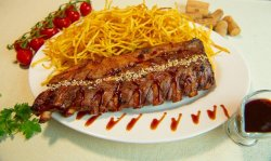 Barbeque ribs image
