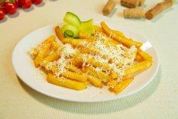 Cartofi pai cu brânză rasă image