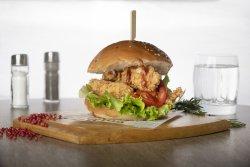 Burger cu crispy image