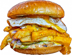 All American Bacon, Egg & Fries Sandwich image