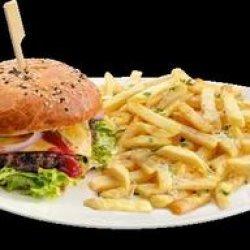 Cheeseburger Corner`s hero