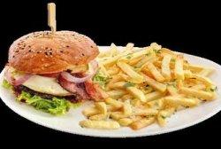 Cheeseburger Corner`s tasty