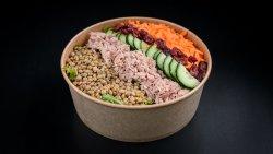 Salată linte de origine farsala și ton image