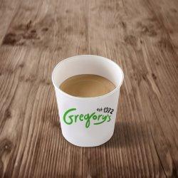 Espresso arabica double image
