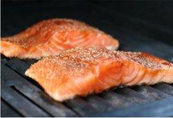 Salmon grill image