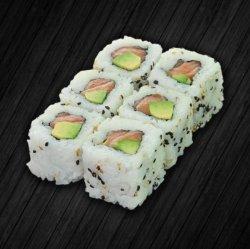Crispy salmon avocado maki 8 pieces image