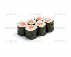Salmon maki 6 pieces image
