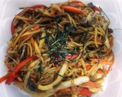 Yakisoba vegetariană image