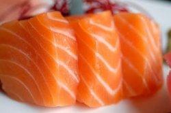 Sashimi somon 3 pieces image