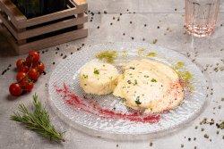 Piept de curcan in sos de brânzeturi,risotto și dovlecel gratinat image