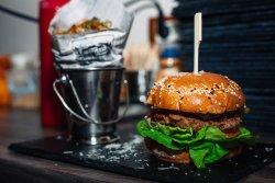 Real burger image