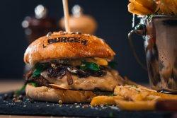 Bbq burger image