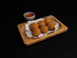 Croquetas de jamon iberic image