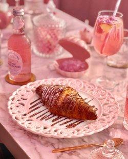 Croissant cu nutella image