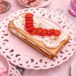Bruschetta cu cremă de brânză image