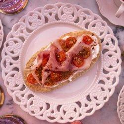 Prosciutto cotto și cremă de brânză image