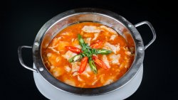 Pui cu sos iute la wok chinezesc image