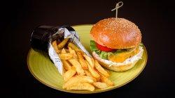 Rainbow Burger  image