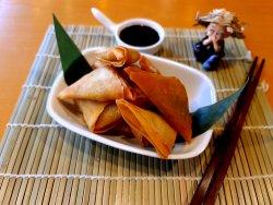 Banh Cari - Curry Samosa image
