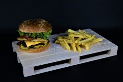 Spicy Cheesburger  image
