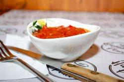 Salată madbuha marocan picant image